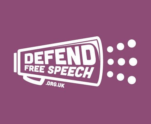 Defend Free Speech LOGO - lo res