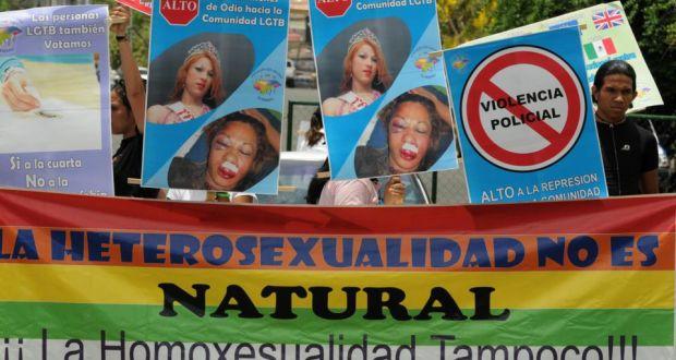 Honduras LGBT protest