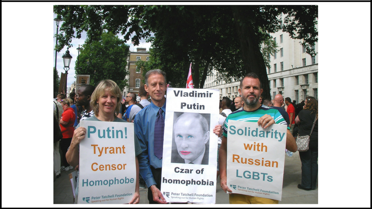 Peter Tatchell - Putin