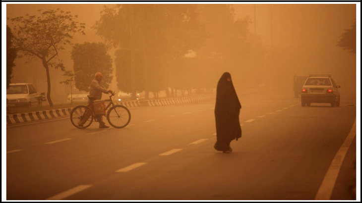 ahwaz pollution