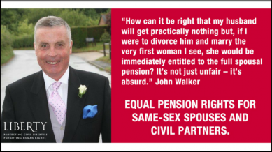 pensions liberty same sex couples