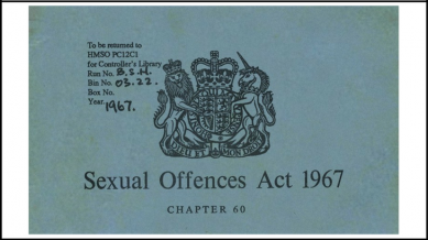 1967: The myth of gay decriminalisation