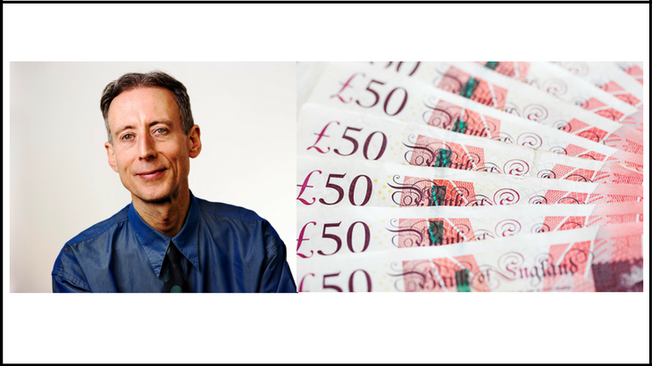 £50 for 50 years of Peter Tatchell's activism