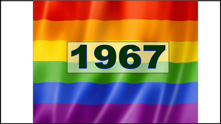gay sex was partly decriminalised by the Sexual Offences