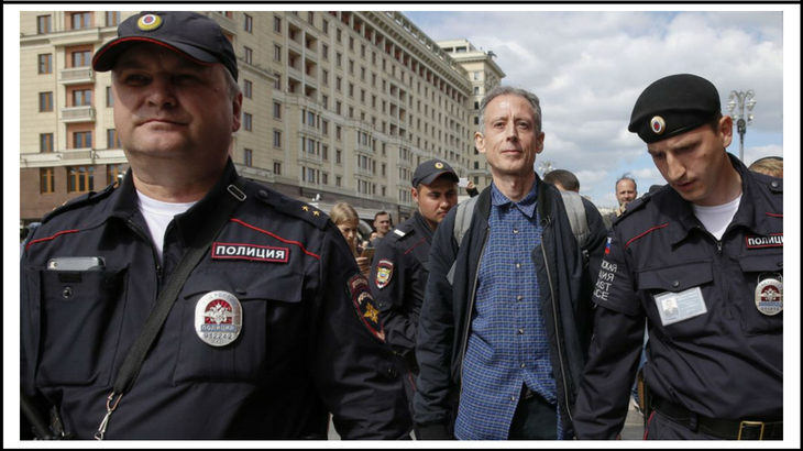 Tatchell Arrested in Russia